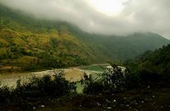 NEPAL, Auf dem Weg nach Pokhara, 16005/8259 (roba66) Tags: reisen travel explore voyages roba66 visit urlaub nepal asien asia südasien pokhara landschaft landscape paisaje nature natur naturalezza rio river fluss textur texture effecte