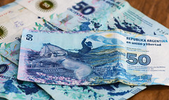 Money, money, money (leograttoni) Tags: macro dinero money pesos argentino caballo horse gaucho cincuenta fifty laplata buenosaires