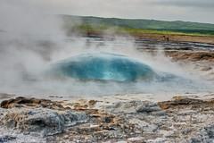 Iceland (Basel101) Tags: iceland geysir vulcan vulkan ferien wasser heiss erholung