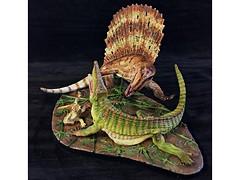 Dimetrodon vs Ophiacodon with dead Seymouria ( 1:10 ) (RobinGoodfellow_(m)) Tags: dimetrodon ophiacodon vitali klatt 110 martin garratt urzeitshop