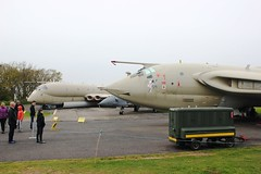 03 Cold War deterrent (brsince78) Tags: handley page victor k2 xl231 yorkshire air museum bae nimrod mr2 xv250