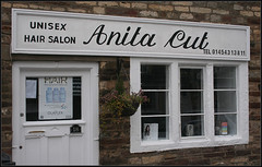 Anita Pun! (Canis Major) Tags: chippingsodbury pun hairdressers humour unisex hairsalon 500 1000
