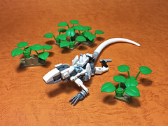 LEGO Mech Lizard-03 (ToyForce 120) Tags: lego robot robots mecha mech mechanic legomech legomoc