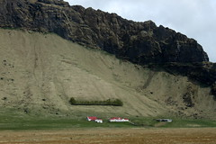 iceland red and white (kexi) Tags: iceland europe mountain slope steep house red roof white landscape view paysage farm canon may 2016 instantfave