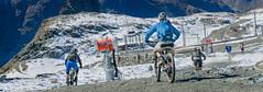 mountain bikes on gornergrat (tkh2001) Tags: sony a7 travel swiss zermatt matterhorn hiking gornergrat