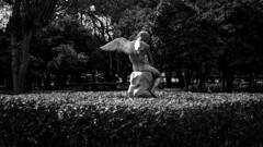 2TJ_1644 (TwoTeeth Johnny) Tags: angel statue bnw monochrome zapio zappeion fallenangel twoteethjohnny outdoors day greece athens