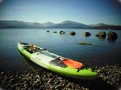 Wild machine (Nicolas Valentin) Tags: stealthkayak stealth lomond lochlomond scotland tree loch ecosse blue
