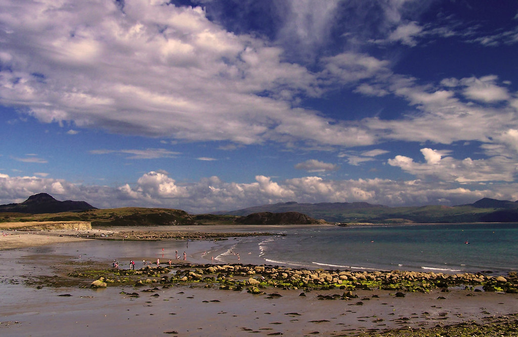 View from Criccieth Beach