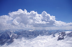 Alpin (andreasschuhmann) Tags: zugspitze germany alps mountain snow bavaria clouds