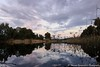 sunset reflections (stavros karamanis) Tags: sunset reflection lake lakeforest lakescapes sky skylovers cloud colours water lines canonphotography canonusers canon t3i ef1635mmf4lisusm ngc nicosia cyprus river