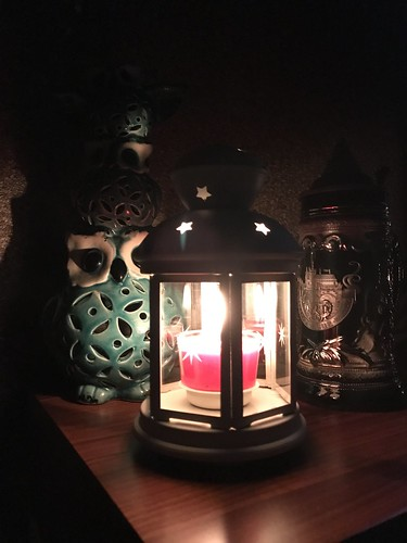 Light of candle...