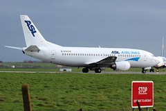 EI-STA ASL Airlines Boeing 737-300 @ Dublin Airport 26th February 2017 (_Illusion450_) Tags: dublin dub dublinairport eidw 260217 airline airport aircraft airplane airfield aeroplane aeroport aeropuerto aviation avion flight flughafen