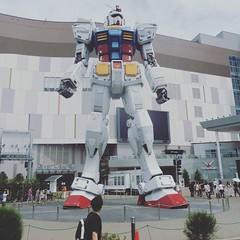 #gundam #gundamfront #tokyo #odaiba #end #newgundam #real #gundamcafe #otaku #diarioviaggi #followme (Diario Viaggi) Tags: instagram travel diary diario viaggi diarioviaggi tour vacanze