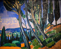 Andre Derain - Landscape, 1911 at Princeton Art Museum Princeton NJ (mbell1975) Tags: french princeton newjersey unitedstates us andre derain landscape 1911 art museum nj museo musée musee muzeum museu musum müze finearts fine arts gallery gallerie beauxarts beaux galleria painting new jersey expression expressionist expressionism paysage