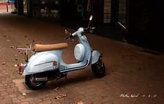 CRW_5612 (mattwardpix) Tags: paleblue scooter newcastle nsw australia matthewward