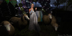 Holding celebrations at night because your a child of the moon (Hunnie.VonM) Tags: secondlife sl oubilette wicca pagan easter ostara spring moon moonchild fashion dress catwa bento bellezza witch rabbit psychobyts aphrodite isleofserendipity