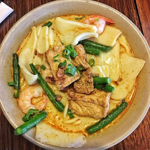It's been a long time since my last #laksafriday. Seafood combination laksa. #eats