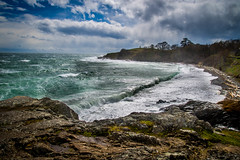 High Winds and Boiling Seas (~ Bob ~) Tags: beach nikon blueskies cattlepoint waves sanjuanisland feisol landscape washingtonstate d610