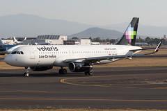 547C0780_Mar29_XA-VLQ (FelipeGR90) Tags: aeropuerto internacional benito juarez ciudad de mexico city a320 a320200 aicm airbus cdmx mex mmmx voi volaris xavlq y4