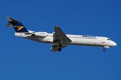 VH-XWT Alliance Aviation Fokker 100 (johnedmond) Tags: perth ypph australia fokker f100 alliance aviation aircraft aeroplane airplane sel55210 55210mm sony