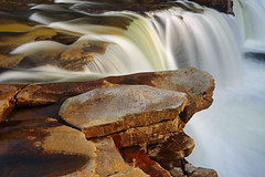 High Falls: Diving board (Shahid Durrani) Tags: high falls monongahela national forest cheat river west virginia