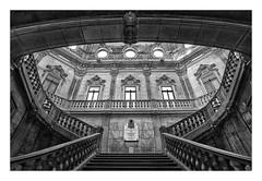 PALACIO DE LA BOLSA  ( Oporto-Portugal ) (RAMUBA) Tags: bolsa palacio palace oporto porto portugal bw