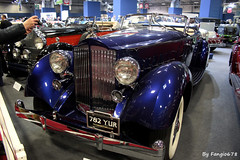 Packard Twelve  Torpédo double phaéton style LeBaron 1937 (fangio678) Tags: retromobile paris 09 02 2017 packard twelve americaine torpédo double phaéton lebaron 1937 voiture voituresanciennes ancienne collection cars classic coche oldtimer youngtimer