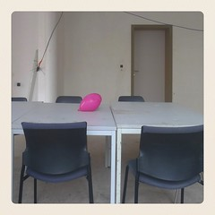 meeting room (europics) Tags: balloon pink official meeting brussels joyless