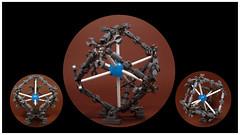 Sphere Cubed (Karf Oohlu) Tags: lego moc sphere cube art conception wtf