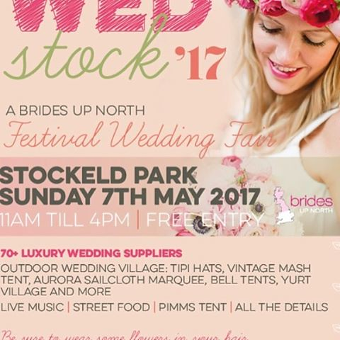 If your looking for fantastic live wedding entertainment please come down to - The '#bridesupnorth #Wedstock'17' at #stockeldpark in Harrogate on Sunday 7th May 2017, 11am - 4pm and see Northern Xposure playing live!  Northern Xposure will be performing l