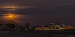 Fairfield Moonrise-2130-3 (Greenruby) Tags: moon moonrise landscape night dark sky nightphotography moonriseatnight houses beach beachfront fairfield fairfieldbeach fairfieldconnecticut