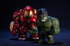 Tag Team (PowerPee) Tags: marvel hulk cosbaby ironman hulkbuster tonystark toyphotography photoygraphy hottoys