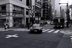 Tokyo: Impressions of a great city (Matthias Harbers) Tags: nikon 1 v3 dxo photoshop japan bw black white 6713mm nikkor outdoor architecture elements topaz labs omot tokyo metropolitan living home monochrome city street life impression