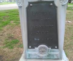 Davis Burrton Clse (Paul R. Smith) Tags: cemetery burrton whitebronze zinker