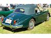 Jaguar XK 150 DHC schönes Beipielbild mit originalem Chromzierrat Kann sich sehen lassen
