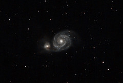 M51 Whirlpool Galaxy (Jamie Ball) Tags: whirlpool galaxy canes m51 dso venatici