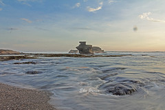 Slow Motion Yeh Kutikan Beach (Eka Purna Sumeika *PIC*) Tags: sky bali motion beach water indonesia landscape flow slow tanahlot yeh tabanan canoneos550d kutikan