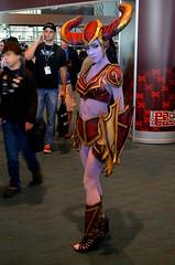 DSC_1548_CC_8X12_150 (venetian thief) Tags: cosplay pax leagueoflegends sofiaajram paxeast riotgames shyvana orobascosplay