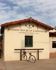 Don't forget to tie-up your bike (Prayitno / Thank you for (11 millions +) views) Tags: california ca new horse up bike bicycle san juan entrance tie pole mission sjc remodel capistrano renovate remodeling renovated konomark