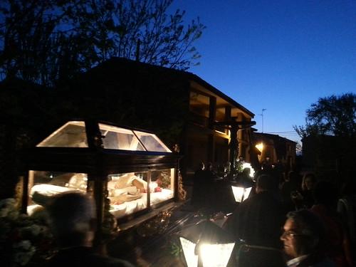 Semana Santa en Cuenca de Campos.