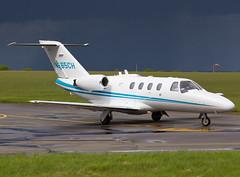 N665CH Cessna 525 CitationJet CJ1 (FlyingAnts) Tags: norwich nwi egsh cessna525citationjetcj1 saxonair n665ch