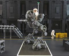 """Pathfinder"" Recon Walker (_TrapleS_) Tags: classic lego box space barrel suit walker scifi armored base mech pathfinder minifigure recon exo hardsuit"