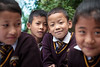 Friends (Satyaki Basu) Tags: travel school friends people india west smile kids canon uniform indian f28 sikkim t3i 1755 600d rinchenpong kaluk