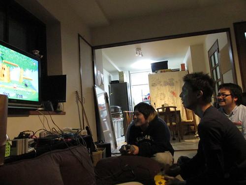 Super Marios Bros, Couchsurfing, Osaka, Japon