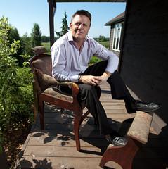 David Chilton - black dress shoes (TBTAOTW2011) Tags: boss man david leather socks businessman shoe shoes dress pants den handsome dragons business suit mature executive suede loafers chilton loafer