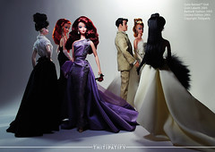 Violetina (thitipatify) Tags: classic love fashion vintage magazine toy model glamour doll quality barbie best retro hollywood figure glam diorama silkstone robertbest