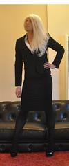 Skirt Suit :) (serenalachance) Tags: tv cd young crossdressing tgirl transgender tranny blonde transvestite trans crossdresser ts tgirls