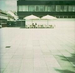 hot in the city (jenci975) Tags: 6x6 film analog fuji cross process agfa expired provia isola