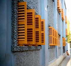 Rhythm of Sun blinds (Mivr) Tags: india window strip kolkata calcutta sunblinds cleaf