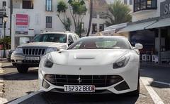 Ferrari F12 Berlinetta. (JayRao) Tags: white spain nikon may ferrari supercar puertobanus marbella f12 v12 2014 jayr berlinetta d610 majaga